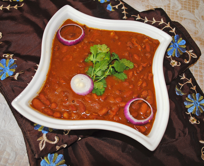 Rajma Curry - Red Kidney Beans