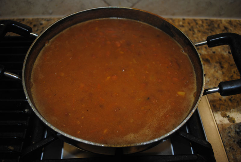 Rajma Curry - Red Kidney Beans - Boiling