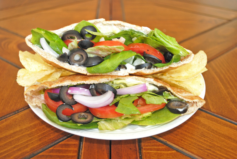 Veggie Pita Pocket Sandwich Recipe Treasure