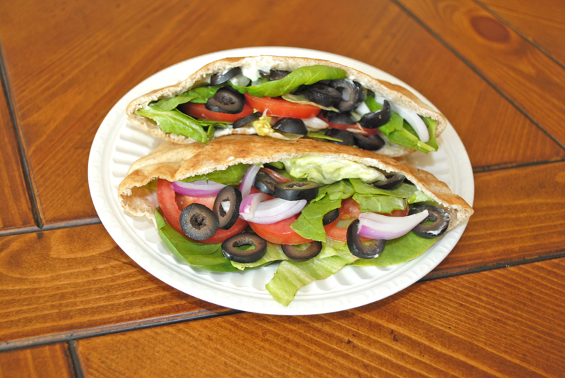 Veggie Pita Pocket Sandwich Recipe Treasure
