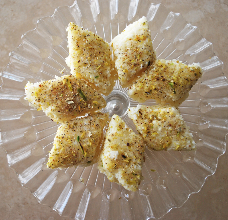 Coconut Barfi | Recipe Treasure