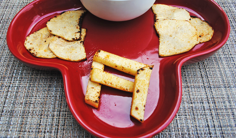 Healthy Jicama Root Fries | Recipe Treasure