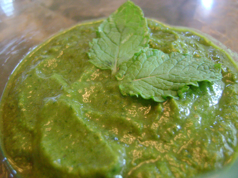 how to make indian mint dip