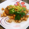 Chole Chaat with Potato Patties | Recipe Treasure