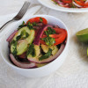 Cucumber Salad with Tomatoes and Onion   Recipe Treasure