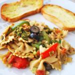 Veggie Bow-Tie Pasta | Recipe Treasure