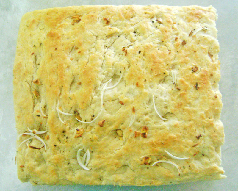 Focaccia Bread - How to Make Focaccia - Italian - Recipe Treasure