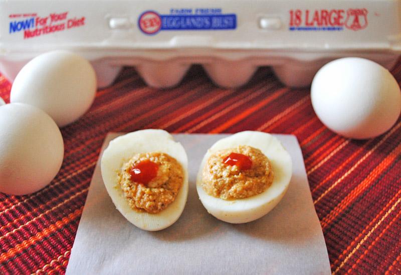 Paneer-Stuffed Hard-Boiled Eggs | Recipe Treasure