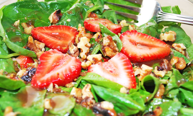 Strawberry Spinach Salad | Recipe Treasure