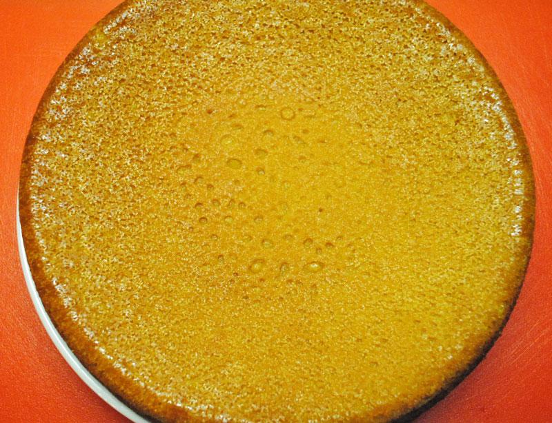 Eggless Pumpkin Cake With Buttercream Frosting | Recipe Treasure | recipetreasure.com