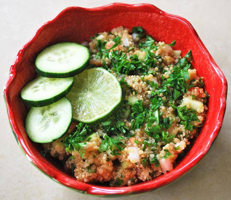 Gluten-Free Tabbouleh | Recipe Treasure | recipetreasure.com