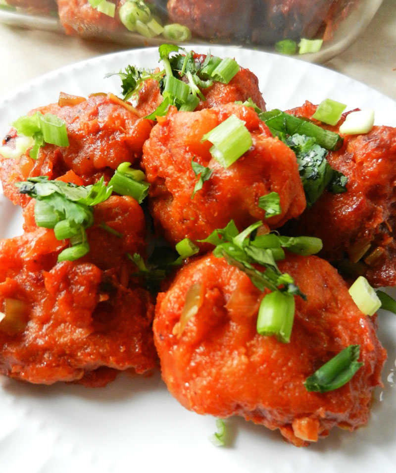 Gobi Cauliflower Manchurian | Recipe Treasure