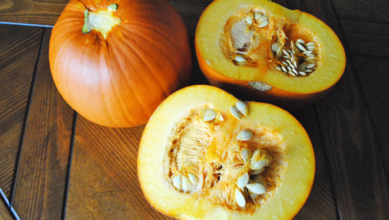 How to Make Pumpkin Puree | Recipe Treasure | recipetreasure.com
