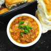 Pav Bhaji - Bun and Mashed Vegetable and Potato Curry - Recipe Treasure - recipetreasure.com
