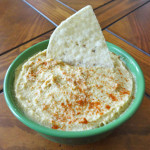 Spicy Pumpkin Hummus | Recipe Treasure | recipetreasure.com