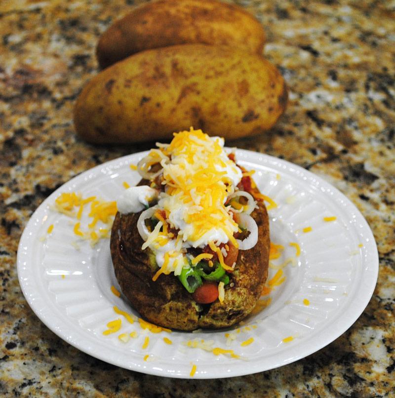 Baked Potato Pile Up | Recipe Treasure