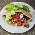 Greek Salad Pitas | Recipe Treasure