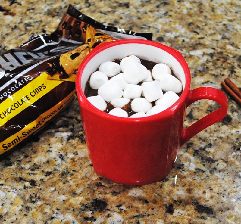 Homemade Hot Chocolate with Marshmallows | Recipe Treasure