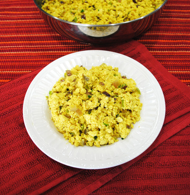 Spicy Masala Tofu Scramble | Recipe Treasure
