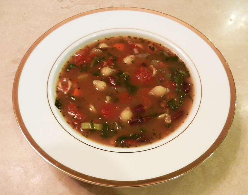 One-Pot Minestrone Soup | Recipe Treasure