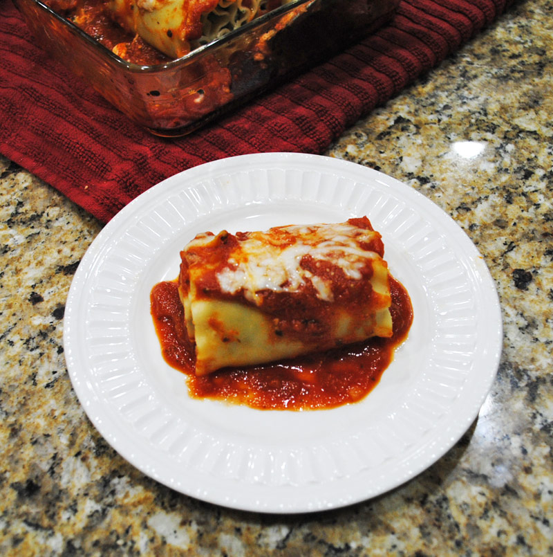 Spinach Lasagna Roll-Ups | Recipe Treasure