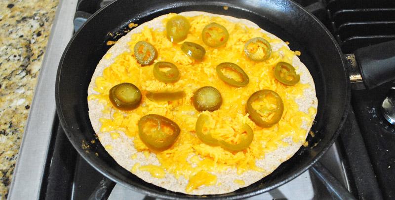 Jalapeno-Cheese Quesadilla | Add Jalapeno | Recipe Treasure