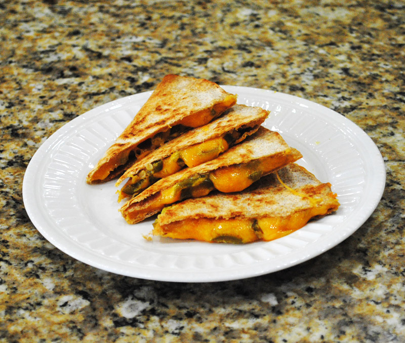 Jalapeno-Cheese Quesadilla | Image 2 | Recipe Treasure