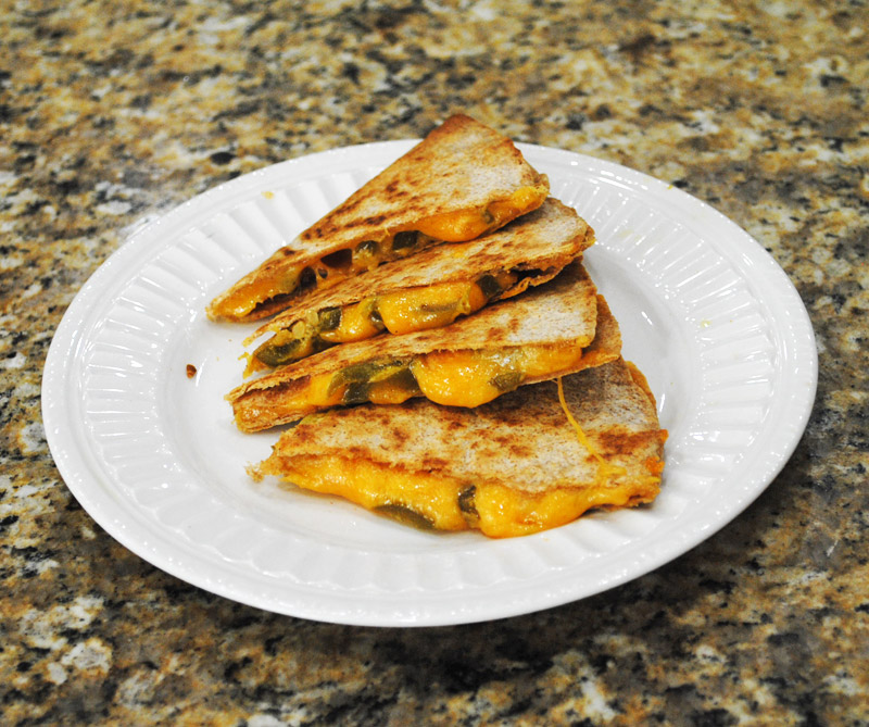 Jalapeno-Cheese Quesadilla | Image 4 | Recipe Treasure