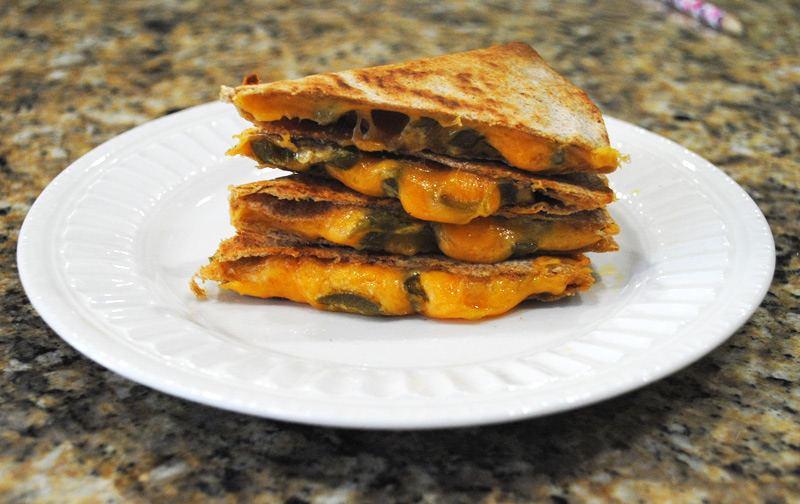 Jalapeno-Cheese Quesadilla | Image 1 | Recipe Treasure