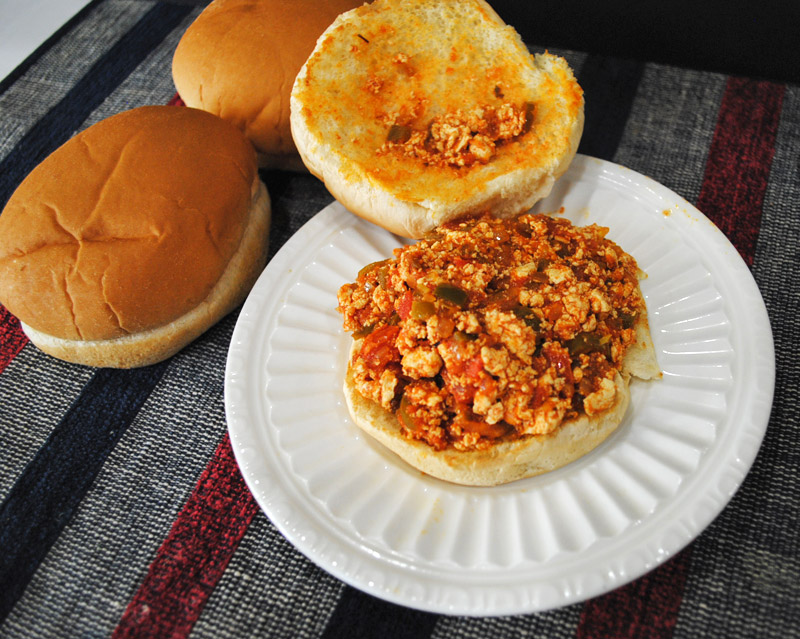 Tofu Sloppy Joes | Recipe Treasure 3