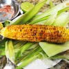 Grilled Corn on the Cob - Indian Style - Salt - Chili - Lime