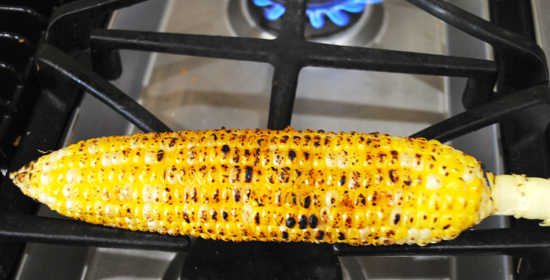 Grilled Corn on the Cob - Indian Style - Churn