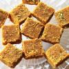 Microwaveable Besan Barfi Gram Flour Sweet