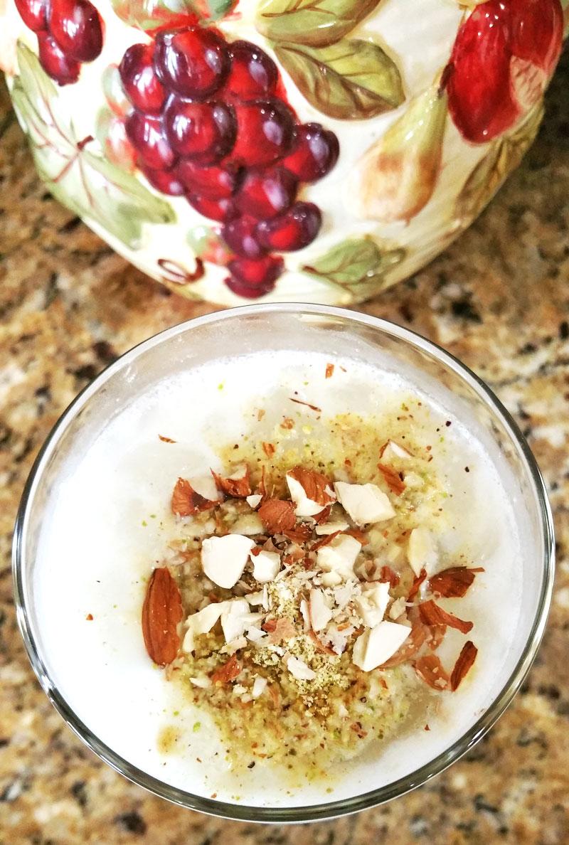 Sweet Lassi Sweet Yogurt Drink - Recipe Treasure