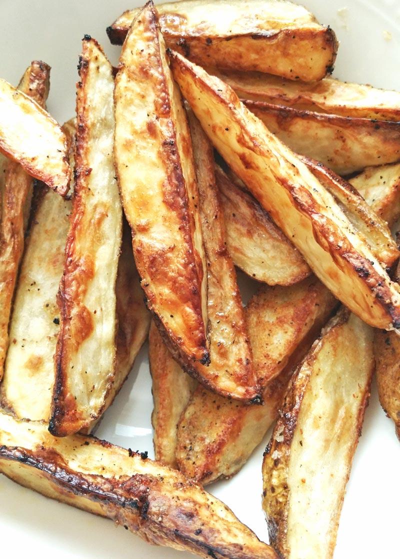 Oven-Baked Potato Wedges - Recipe Treasure